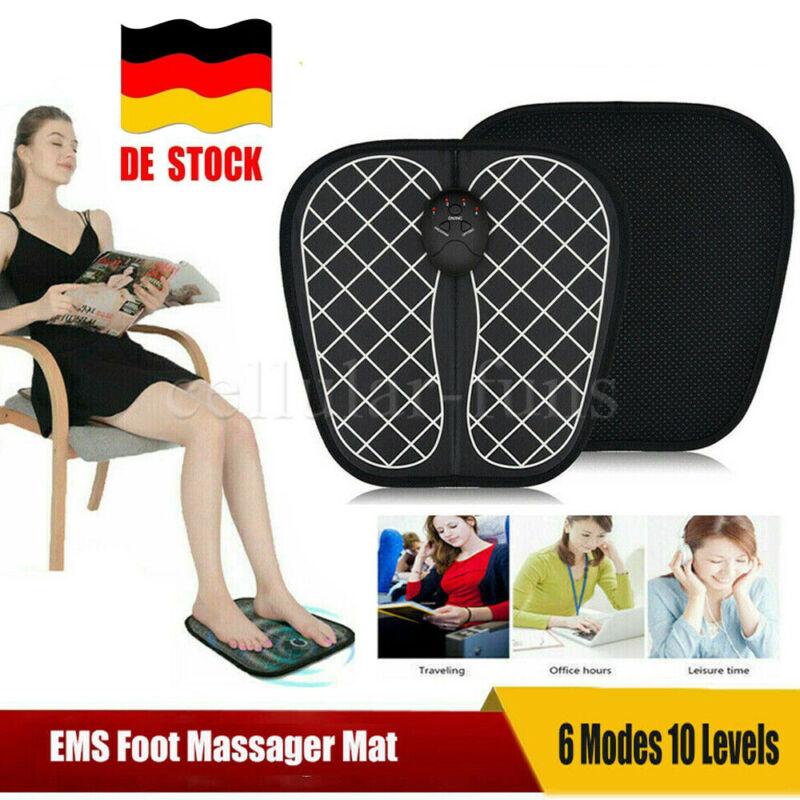 EMS Fußmassage FußMassagegerät Shiatsu Reflexzonen Massage mit Wärmefunktion Neu