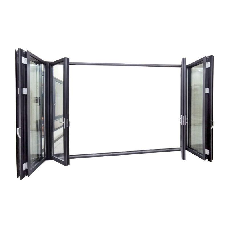 "Bifold Doors - Folding Patio Pass Through Window - Size 60"" x 36"". US Seller"