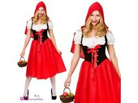LADIES ADULT SEXY LITTLE RED RIDING HOOD
