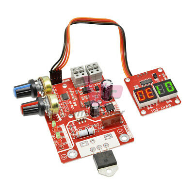 Spot Welder Machine Time Control 40a Current Digital Display Controller Board
