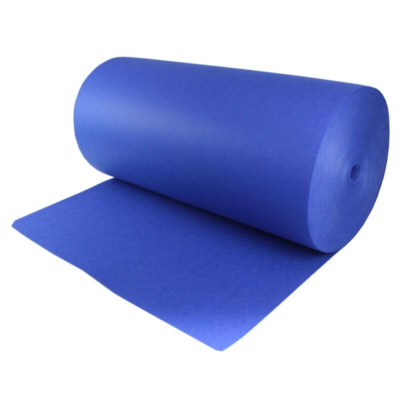 "Blue Speaker Box Carpet Sub woofer DJ Box Audio Video Wrap Cover Trim 48"" x 78"""
