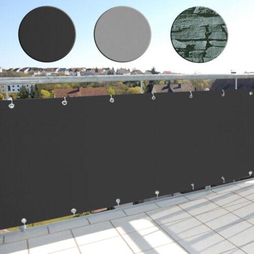 Balkonsichtschutz Balkon Sichtschutz Wetterbeständig PVC Balkonverkleidung Außen