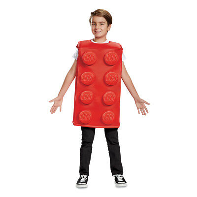 Lego Brick Halloween Costume (Kids Red Lego Brick Halloween)