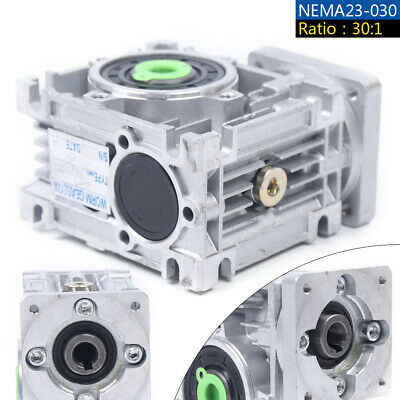 Worm Gear Speed Reducer Reduction Gearbox 301 Gear Box F Servostepper Motor
