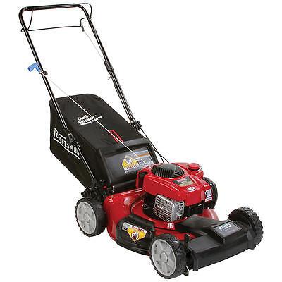 "Craftsman 21"" 150cc Lawn Mower Gas Self Propelled Front Wheel Drive Bag"