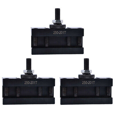 3pcs Bxa 250-201xl Oversize 34 Turning Tool Holder Quick Change 10-15 Lathe