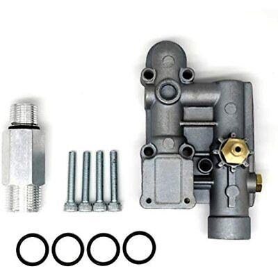 Waricaca 4 Bolt Pressure Washer Pump Unloader Manifold Kit For Briggs Stratton