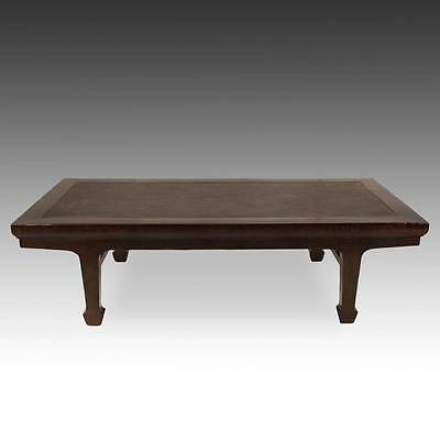 Купить ANTIQUE CHINESE QING LOW TABLE ELM RATTAN INSET CHINESE FURNITURE 19TH C.