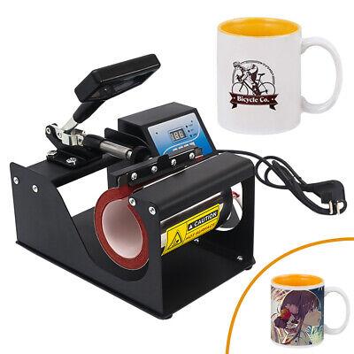 Digital Mug Heat Press Machine Sublimation Ink Transfer Paper Diy Coffee Cup Us