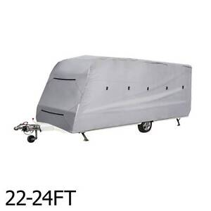 AUS FREE DEL-4 Layers Open Caravan Campervan Cover Straps 22-24FT Sydney City Inner Sydney Preview