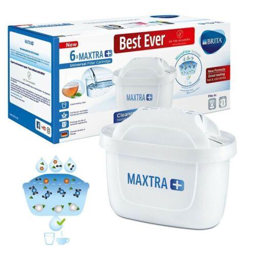 Pack of 6 Compatible Water Filter Cartridges to fit Brita Marella Navelia Jugs