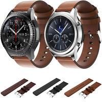 Cinturino In Vera Pelle Lusso Bracciale Braccialetto Per Samsung Gear S3 Nuova - samsung - ebay.it