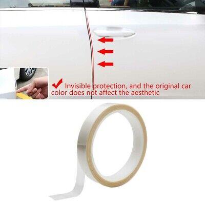 1X 16ft Clear Vinyl Film Car Door Edge Paint Anti-Scatch Protective Guard Strip