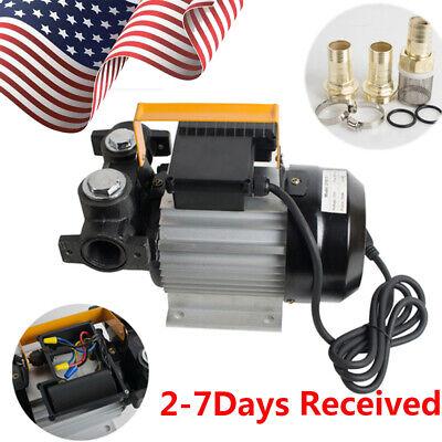 Usa 2-7d Portable Auto 110v Ac Oil Diesel Fuel Transfer Pump W Self Priming A