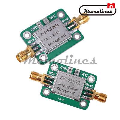 5M-6GHz RF LNA Broadband 50-4000 MHz SPF5189 RF Signal Power Amplifier  Receiver