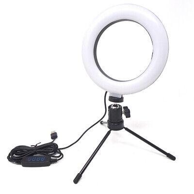 Selfie VLOG RING treppiede set foto video youtuber luce anello LED regolabile