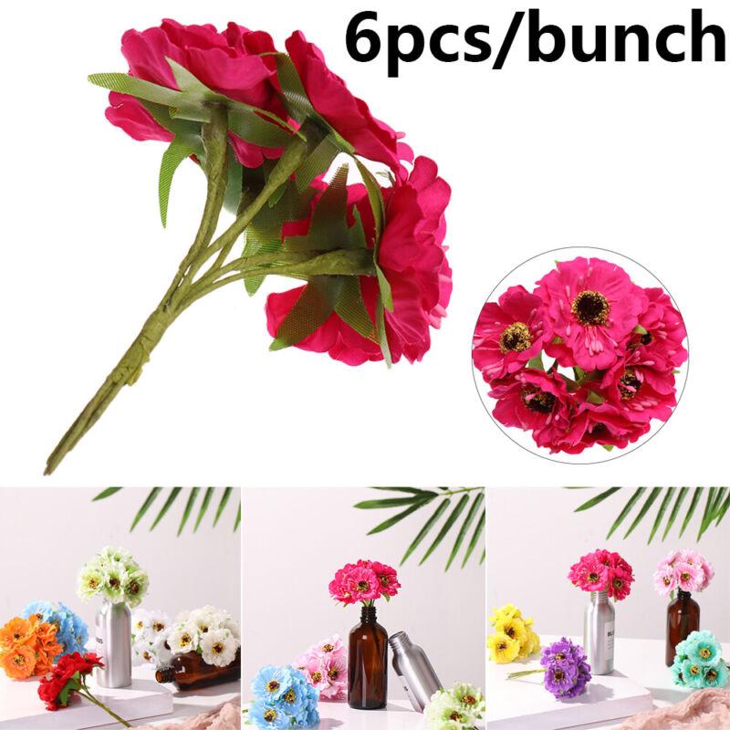 Decor Artificial Flowers Silk Cherry Blossoms Fake Bouquet Scrapbooking Wreath