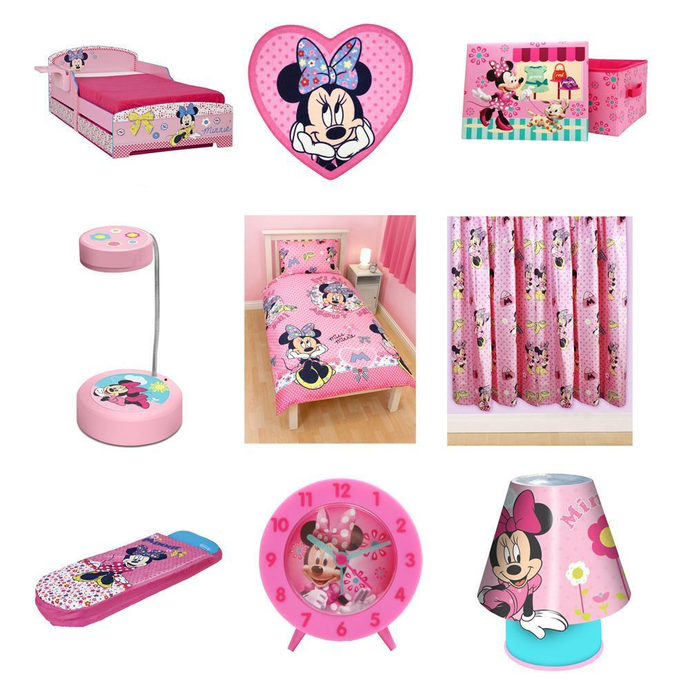 MINNIE MOUSE BEDDING, DUVET COVERS & BEDROOM ACCESSORIES