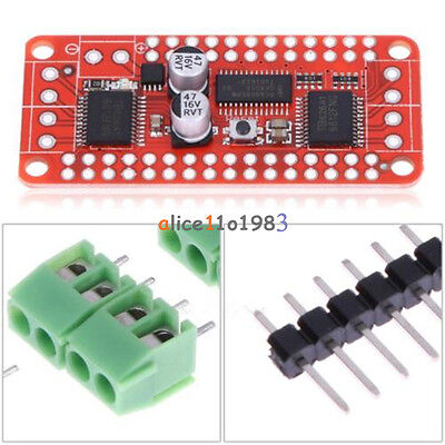 Pca9685tb6612 Stepper Motor Dual Dc Motor Driver Controller Board For Arduino