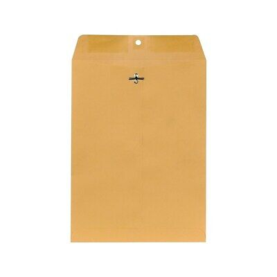 Staples Brown Kraft Clasp Envelopes 9 X 12 250box 487493