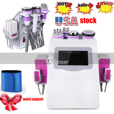 6in1 Cavitation Radio Frequency Rf Vacuum Slimming Cellulite Ultrasonic Machine