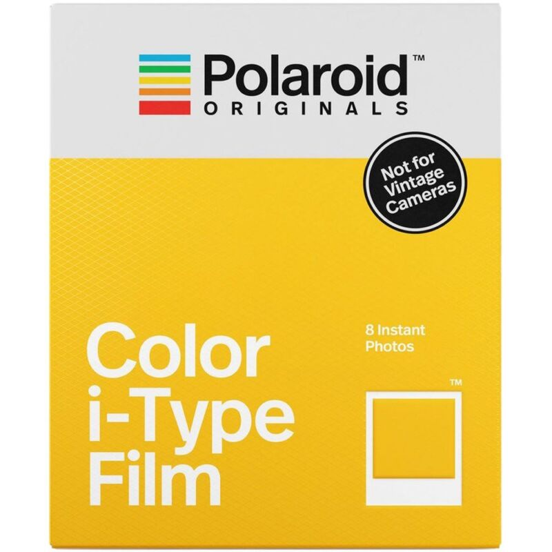 Polaroid Originals 4668 Color Glossy Instant Film for i-Type Cameras (OneStep2)
