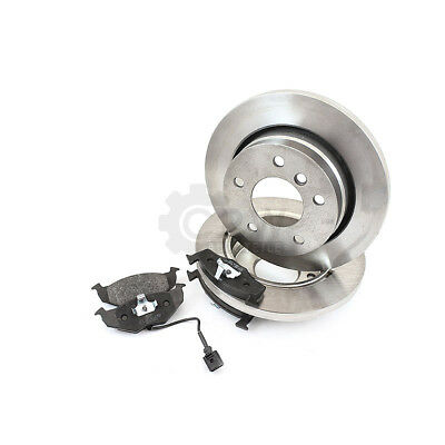 Bremsscheiben Bremsbeläge hinten für Skoda Fabia II 542 545 5J Seat Ibiza III