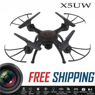X5UW Wifi FPV Headless RC Drone 720P HD Camera RTF Quadcopter Toys US Gift B2