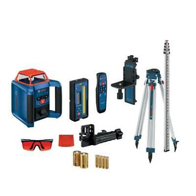 Bosch Grl2000-40hvk Cordless Self Leveling Horizontalvertical Rotary Laser Kit