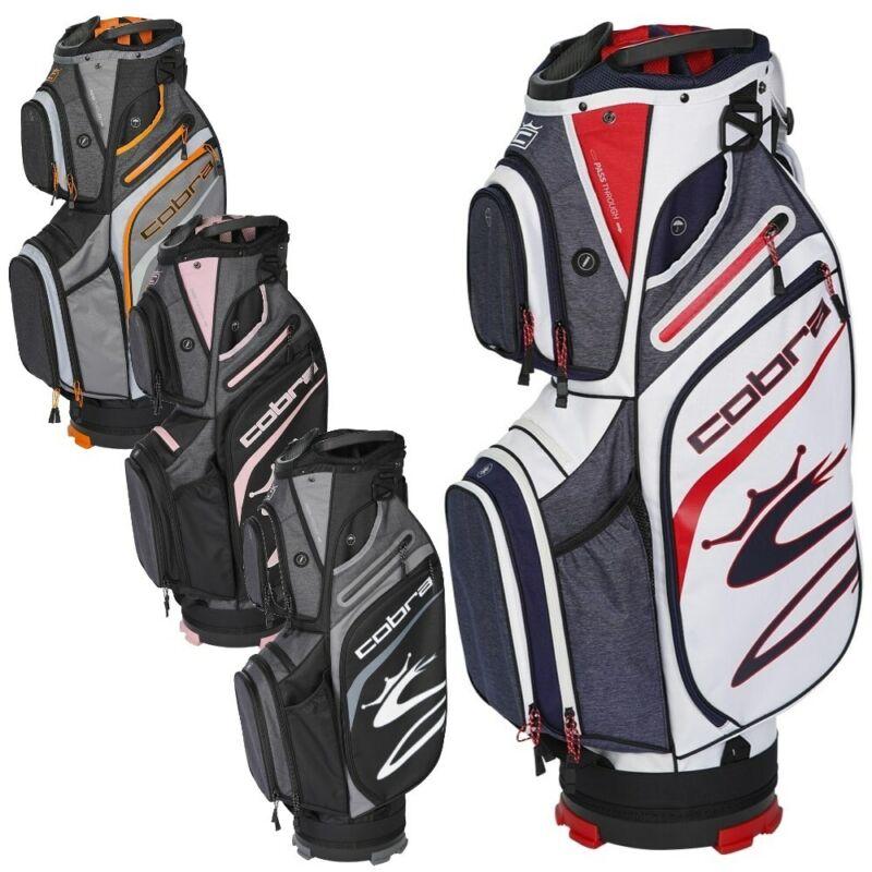 NEW Cobra Golf 2021 Ultralight Cart Bag 14-way - You Pick the Color!