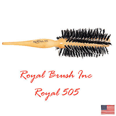 - Royal Brush 100% Natural Boar Bristle Styling Brush Porcupine Type 505