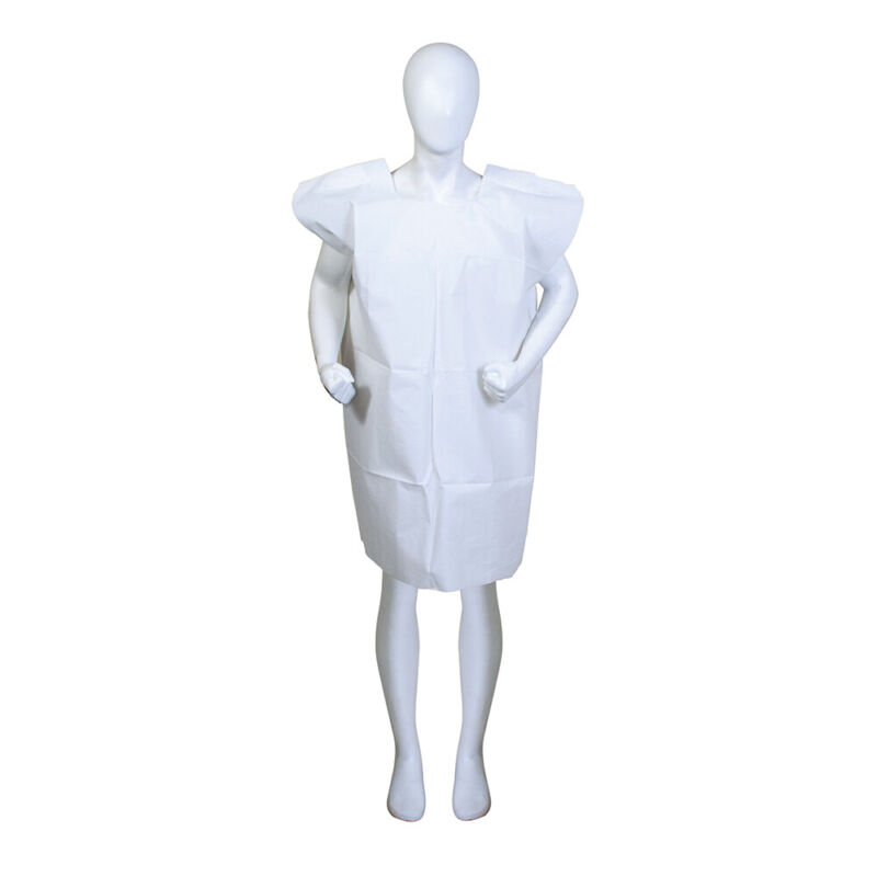 BodyMed Disposable Exam Gowns – Disposable Medical Gowns for Adults – Case of 50