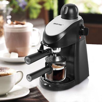 BESTEK Machine Cappuccino Espresso Latte Proficient in  Coffee Maker Bar Espresso Coffee