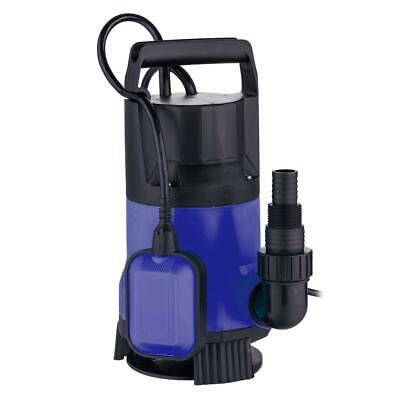 New 1.5hp Clear Dirty Water Submersible Plastic Pump Swimming Pool Pond 16000lh