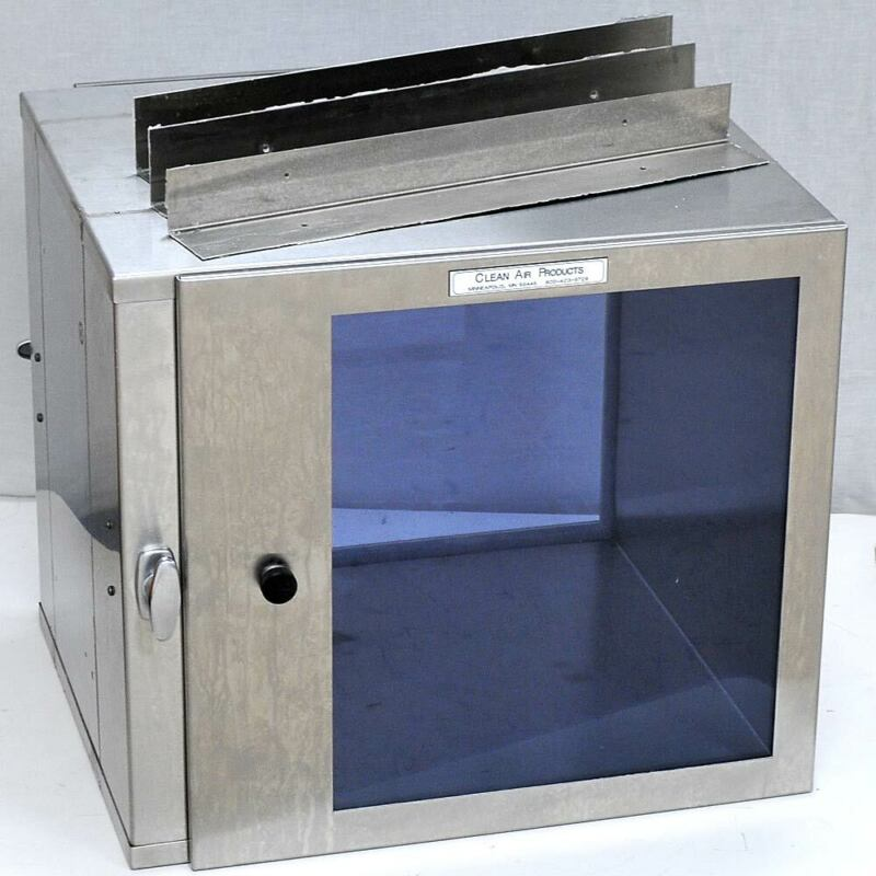 """Clean Air Products 18""""Cleanroom Wall Passthrough Window Cabinet CAP18-18X18X18D"""