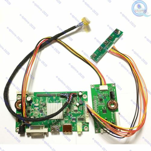 HDMI+DP+DVI Driver Board Kit for 2560×1440 2K LCD LM270WQ1-SDA2/SDE3/SDC2/SDB3