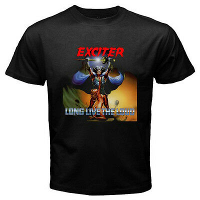 New EXCITER Long Live The Loud Metal Rock Band Men