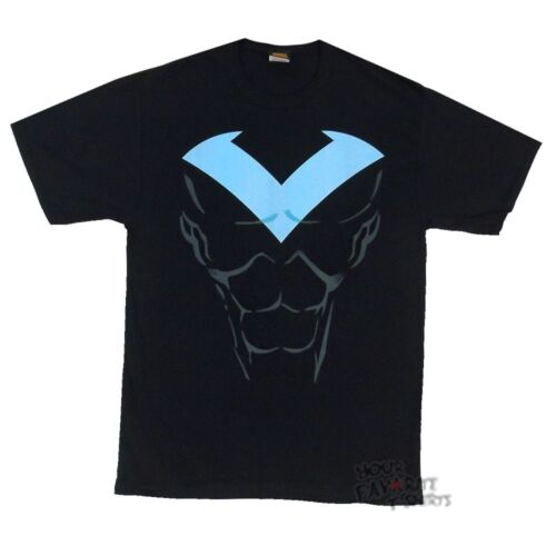 Nightwing Symbol Costume New 52 Batman Dc Comics Licensed Adult T