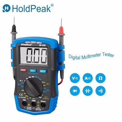 Mini Digital Multimeter Ncv Volt Meter Amp Meter Diode Ohm Battery Tester Hp-37b