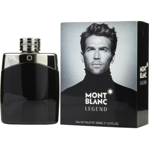MONT BLANC LEGEND Men 3.4 / 3.3 oz EDT Cologne New in Box