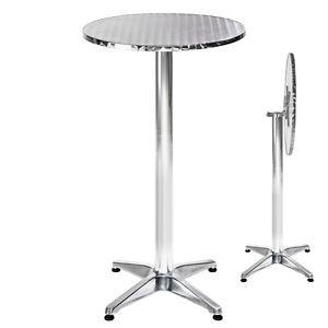 Stehtisch ALU 2in1 höhenverstellbar Bistrotisch Klapptisch Bistro Tisch klappbar