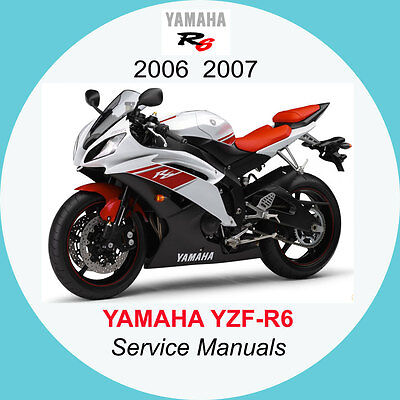 YAMAHA YZF-R6 2006-2007 FULL SERVICE MANUAL A2