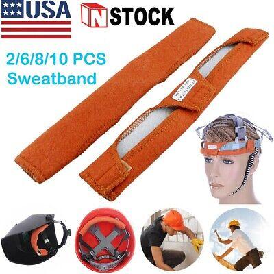 10pcs Sweatband Sweat Band Headgear Replacement For Hard Hat Cap Welding Helmet