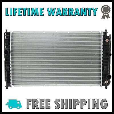 New Radiator For Chevy Malibu Alero Grand Am 2.4 L4 3.1 3.4 V6 Lifetime Warranty