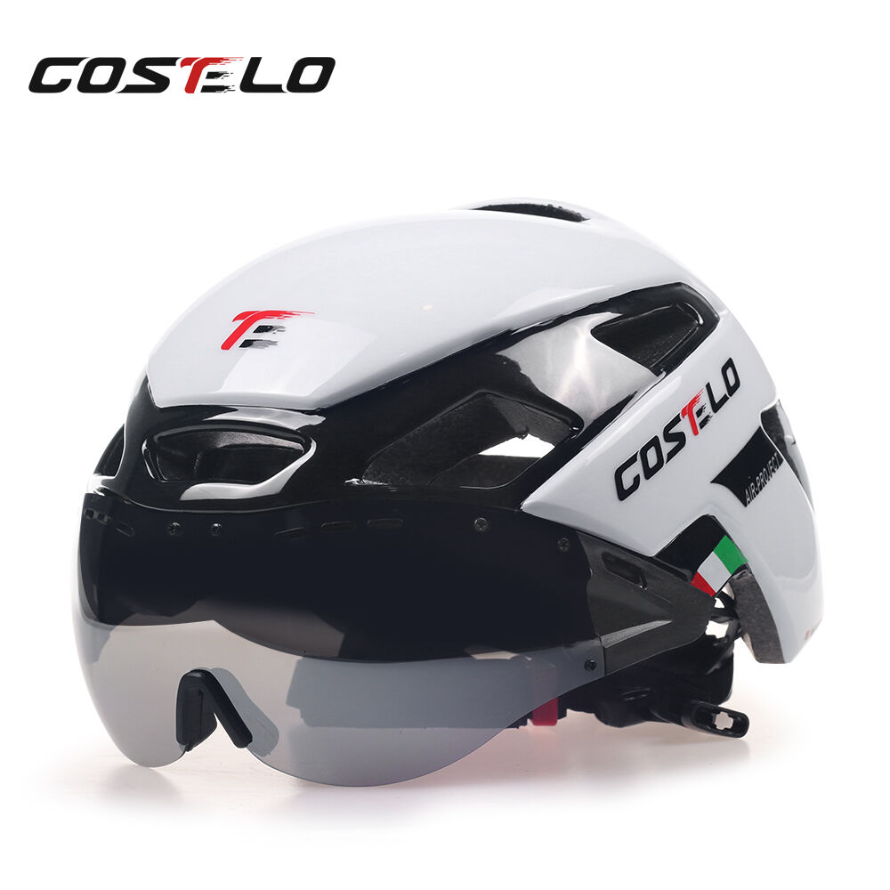 Costelo cycling Helmet MTB Road Bike VH-IKON Bicycle Helmet Goggles 1 or 3 lens