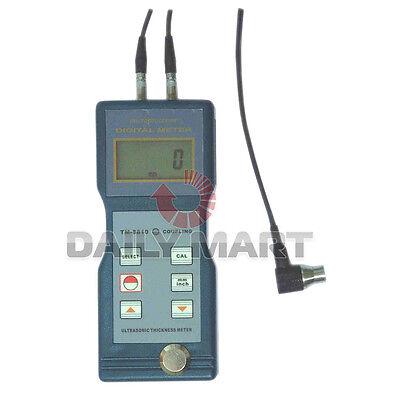Ultrasonic Digital Testing Wall Thickness Gauge Meter Tester Steel Tm-8810 Pvc