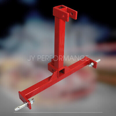 Category 1 Drawbar Tractor Trailer Hitch Receiver 3 Point Attachment Standard Us