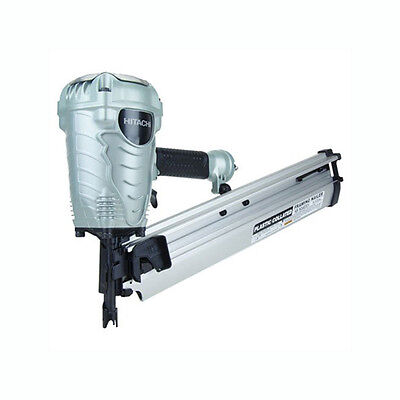 "Hitachi NR90AES 3-1/2"" Plastic Collated Full-Head Framing Nailer"