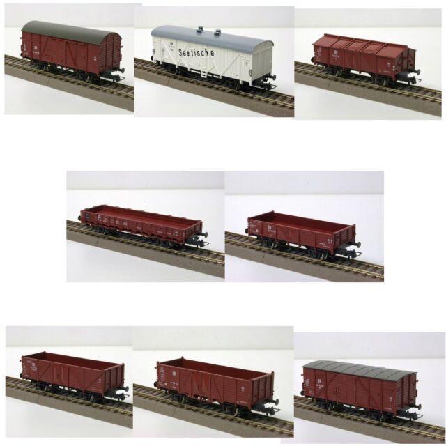 67127 ROCO Güterwagen-Set, 8-teilig Spur H0
