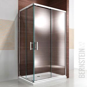 Details zu Dusche Duschkabine Schiebetür Duschabtrennun g ESG Glas ...